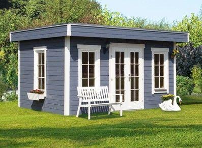 Lumineux et spacieux, ce chalet constitue une véritable pièce dans votre jardin que vous pouvez monter facilement. Disponible en plusieurs coloris.