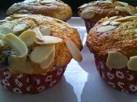 Lekker eten met het FODMaP-dieet: Fambozen- sinaasappelmuffins met amandel