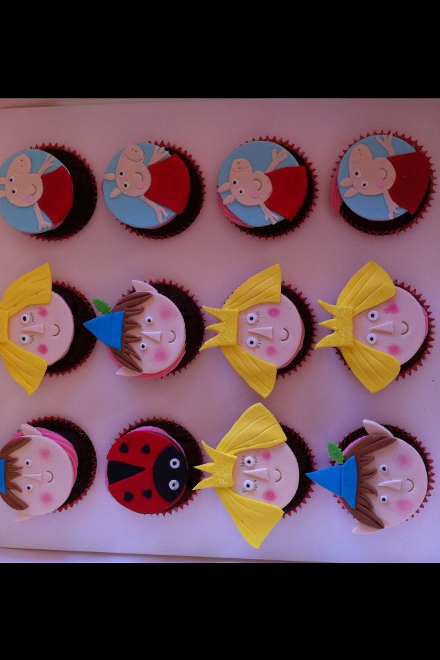 """Ben ""Holly little Kingdom cupcakes"