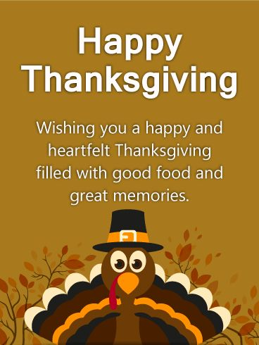 74 best thanksgiving cards images on pinterest anniversary heartfelt turkey thanksgiving card a happy and heartfelt thanksgiving greeting card whats cuter than m4hsunfo