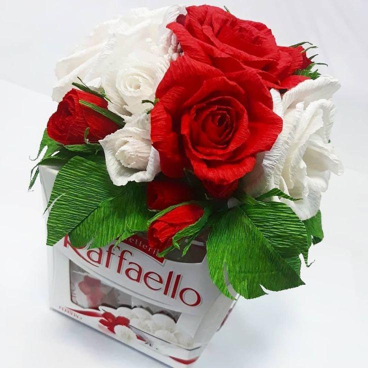 Картинка рафаэлло и роза