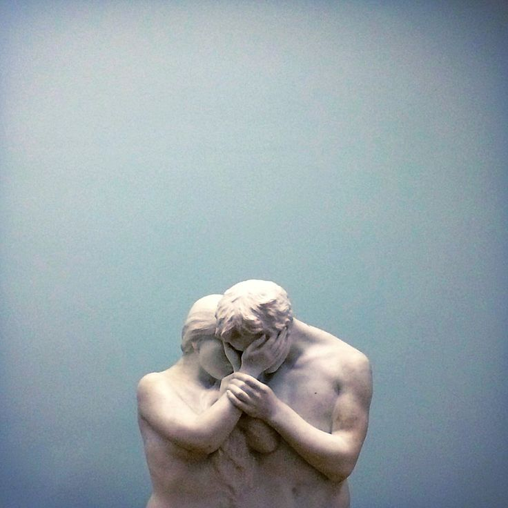 Lovers | Auguste Rodin (I haven't found other images of this sculpture so I'm not sure, if someone knows more, write a comment!)