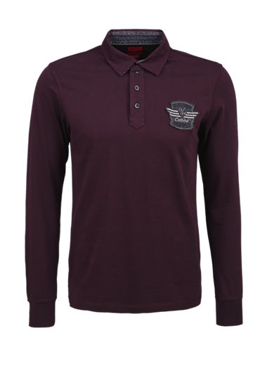 Embellished polo shirt from s.Oliver. Discover the latest fashions online for women, men and kids and order with free delivery.