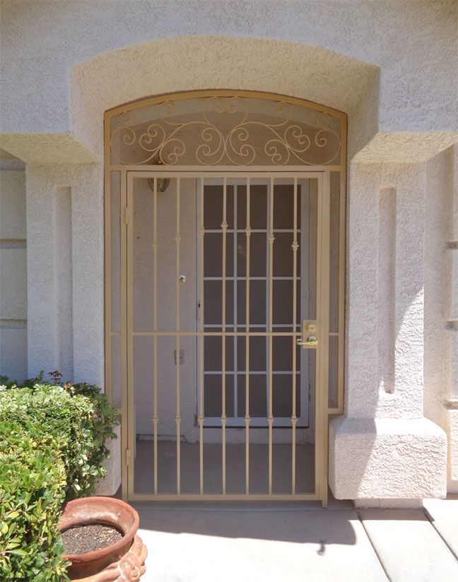 Entryway Gates - Artistic Iron Works - Ornamental Wrought Iron Specialists