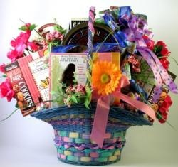 Easter baskets 11 pinterest an egg stra special easter basket a family sized easter basket full of treats negle Image collections
