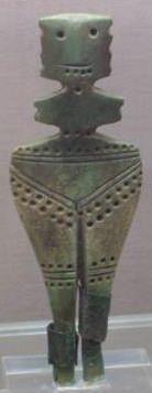 Neolithic goddess figurine, Stara Zagora, Bulgaria