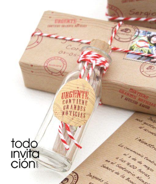 17 mejores ideas sobre invitaciones de boda original en - Invitacion de boda original ...