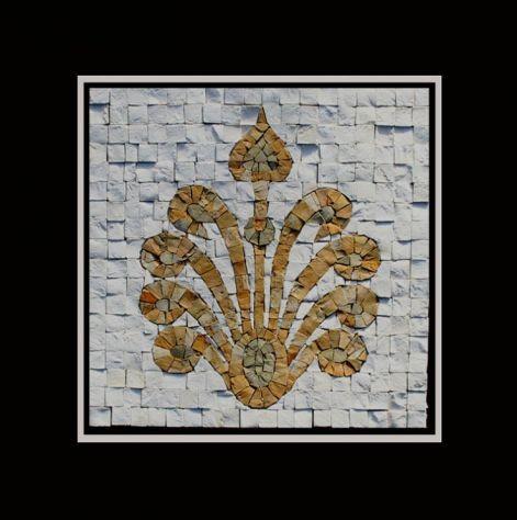 Design Marmor Naturstein Mosaik Fliese, eine Mosaikfliese aus der Serie Andalucia - Die sehr fein und mit großem handwerklichen Geschick gearbeiteten Mosaike werden in kleinen Manufakturen handgefertigt. #design #fliesen #mosaik #mosaikfliesen #naturstein #badezimmer #bad #luxus #wellnessbereich #Spa