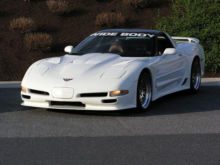 Corvette 2002 Kit Body Wide