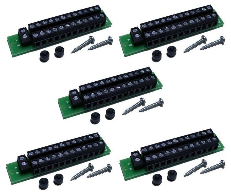 S862 - 5 Stück MoBa Verteiler Stromverteiler 24-polig für Gleich- u Wechselstrom