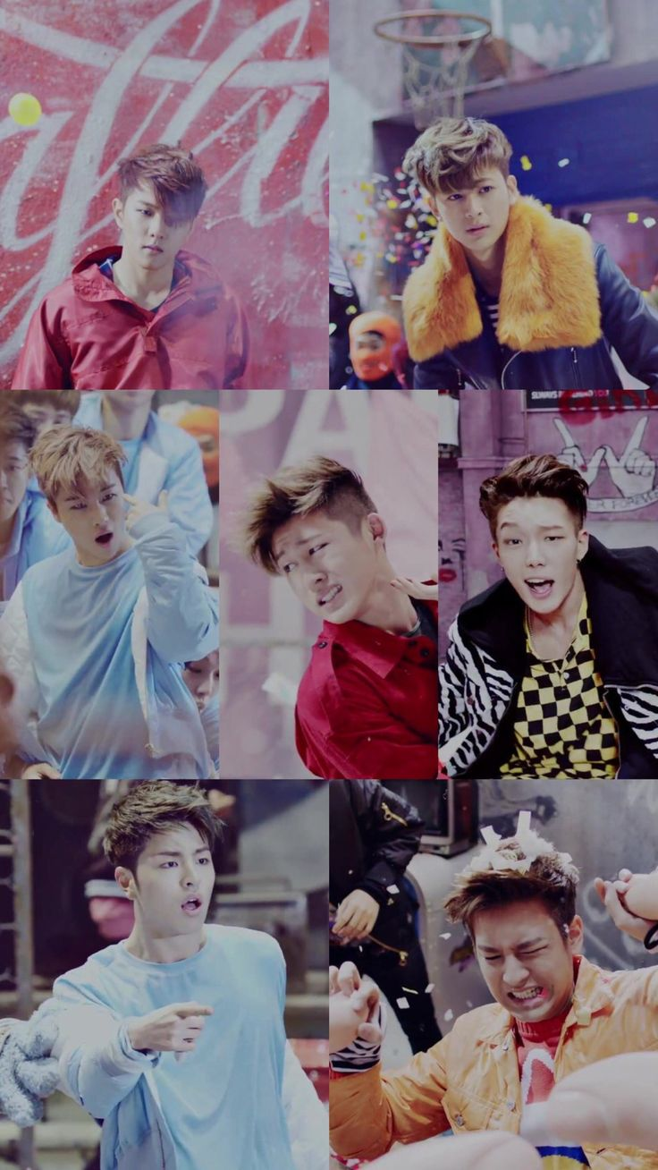 "iKON || ""What's wrong"" wallpaper for phone"