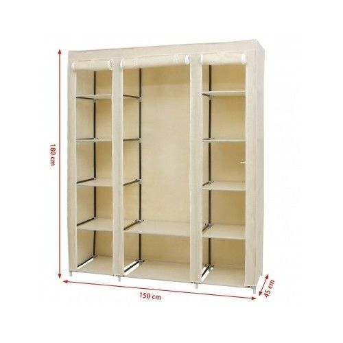 Wardrobe-Closet-Clothes-Organiser-Bedroom-Storage-Portable-Furniture-Home-House