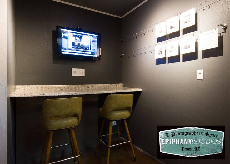 Duel Uses! Our Tech Bar Is The Perfect Height For Your Digital Tech To Work