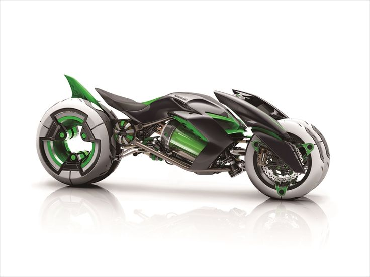 The Kawasaki J Is A Transforming Three Wheeler Concept From 2013 Tokyo Motor Show This Electric Motorcycle Like Something Tron Movie