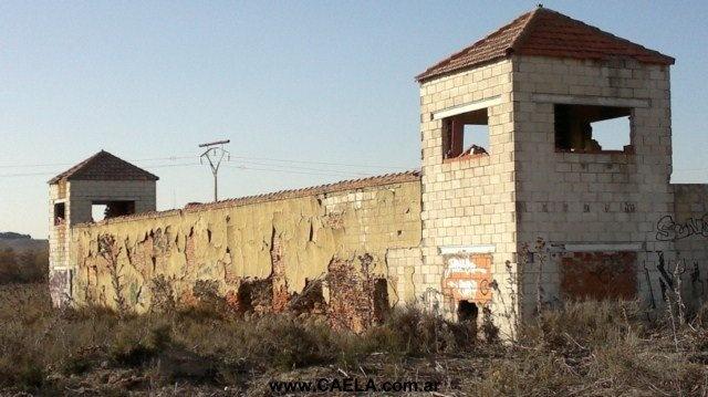 Cuartel abandonado de la Guardia Civil