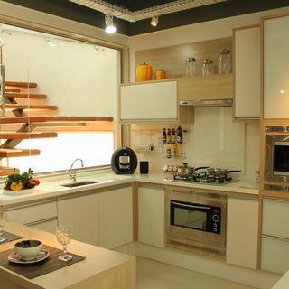 Cozinha Planejada com Cores Neutras
