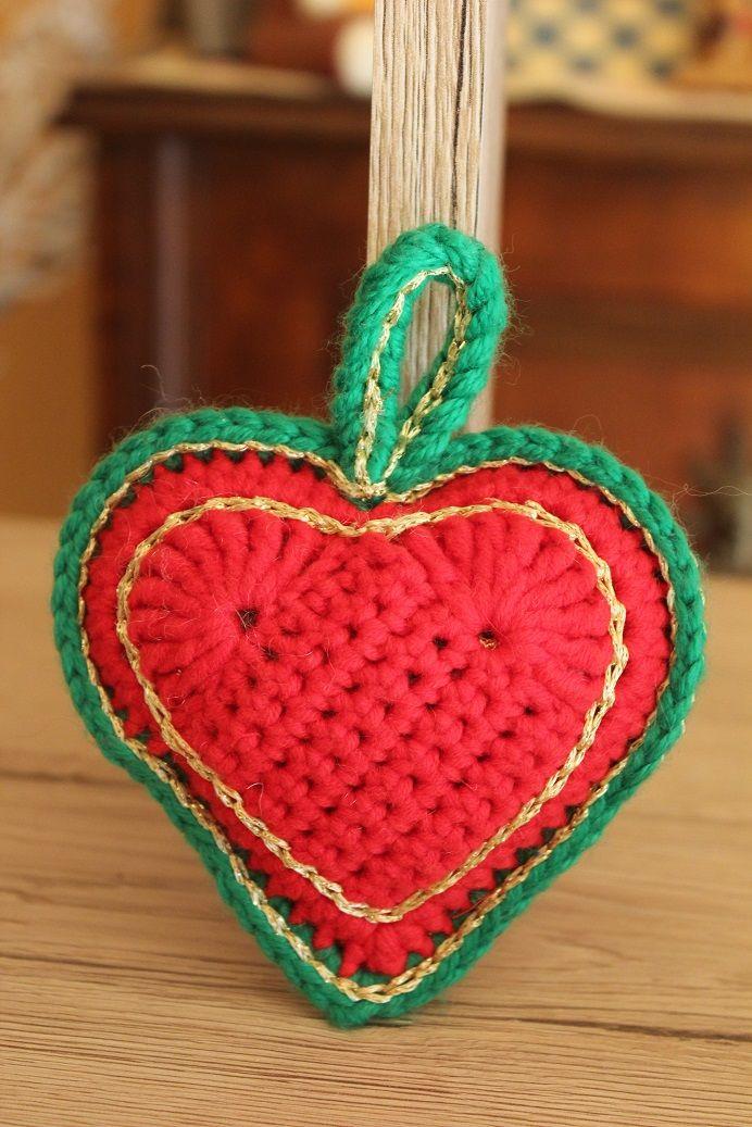 ein weihnachtliches Herz gezaubert <3