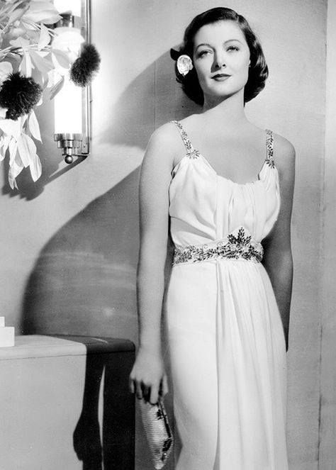 Myrna Loy - so beautiful, and such class !