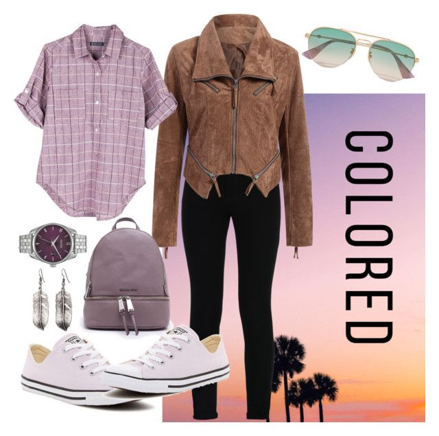 """""""Sommerabendspaziergang"""" by eva-thomi on Polyvore featuring STELLA McCARTNEY, United by Blue, Michael Kors, Converse, Nixon and Gucci"""