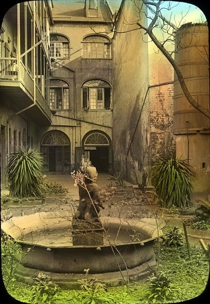 architecture in new orleans   fabulous new orleans courtyard repinned from new orleans by gardens