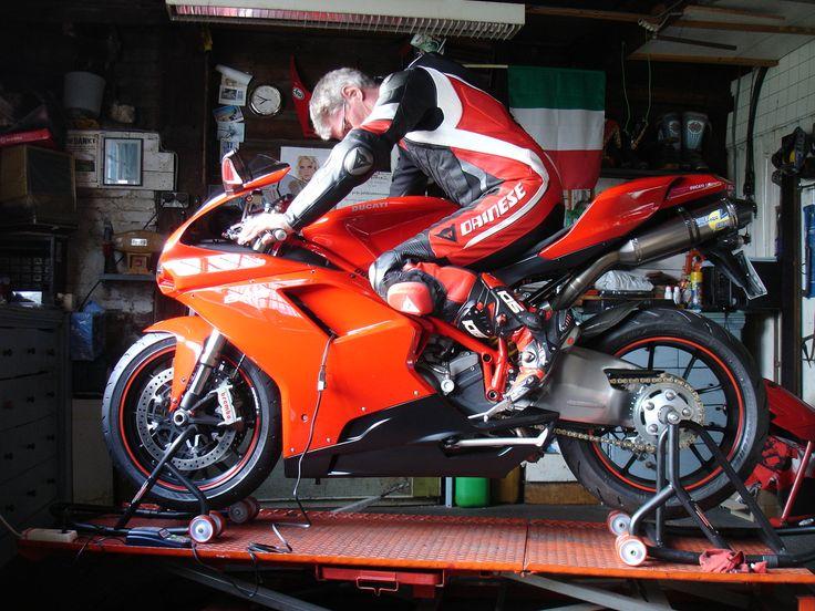 Me on My Ducati 848 in New Aero Evo P. Dainese Suit