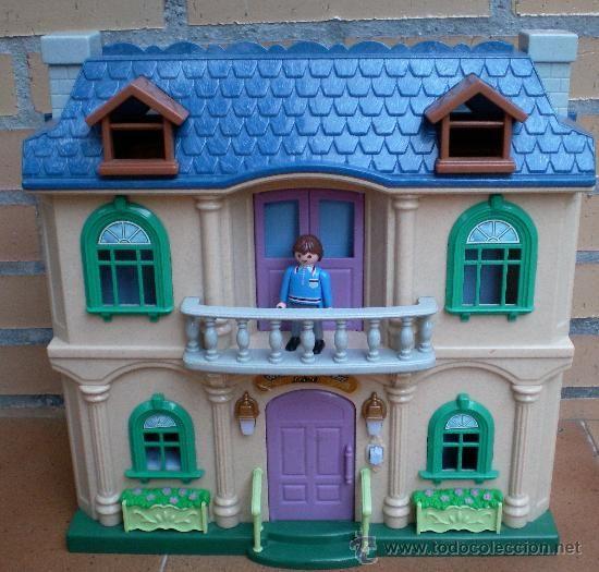 42 best casas playmobil images on pinterest doll houses for Casa playmobil precio