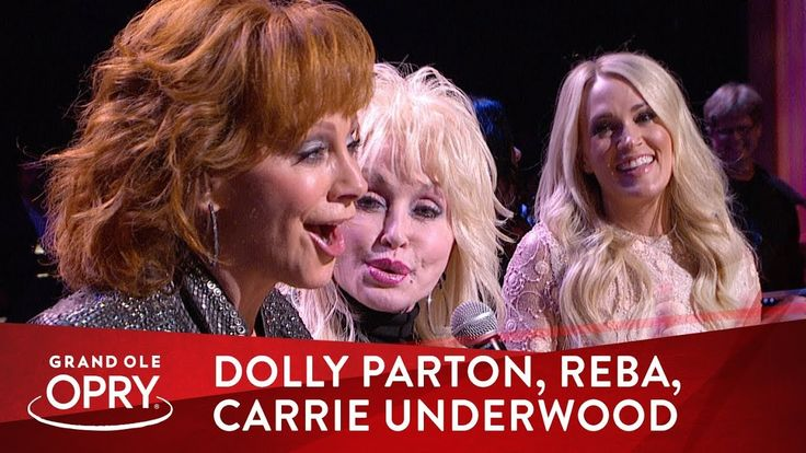 Dolly Parton Surprises Reba McEntire With The Help of Carrie Underwood | Opry - YouTube