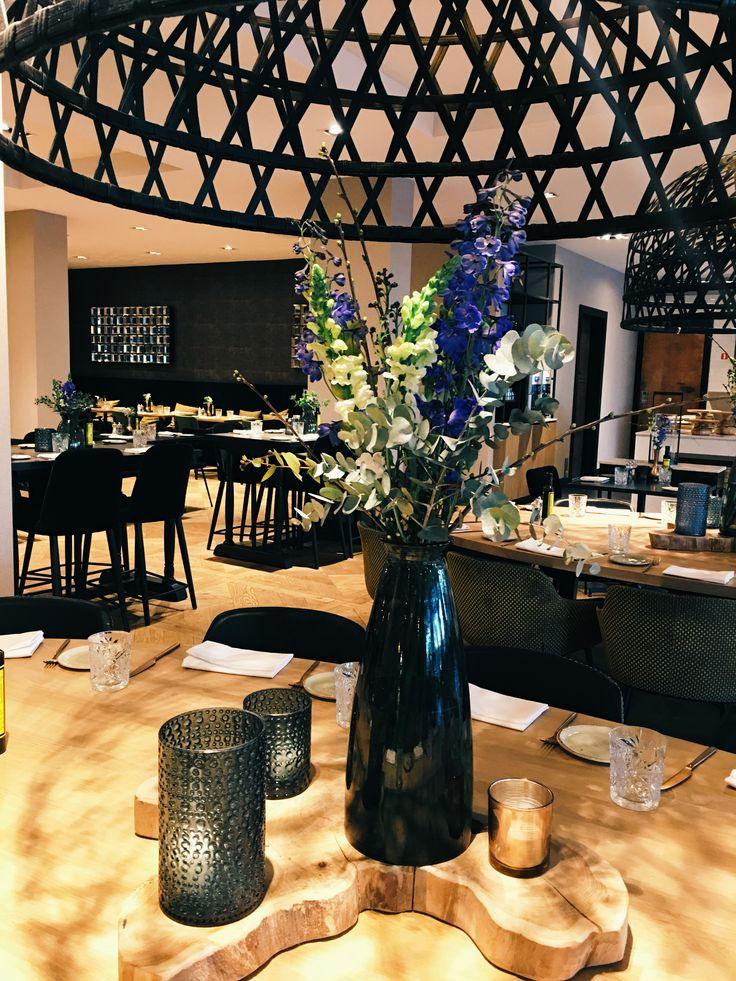 Decoration - flowers - wood - candles @Van der Valk Hotel Antwerpen
