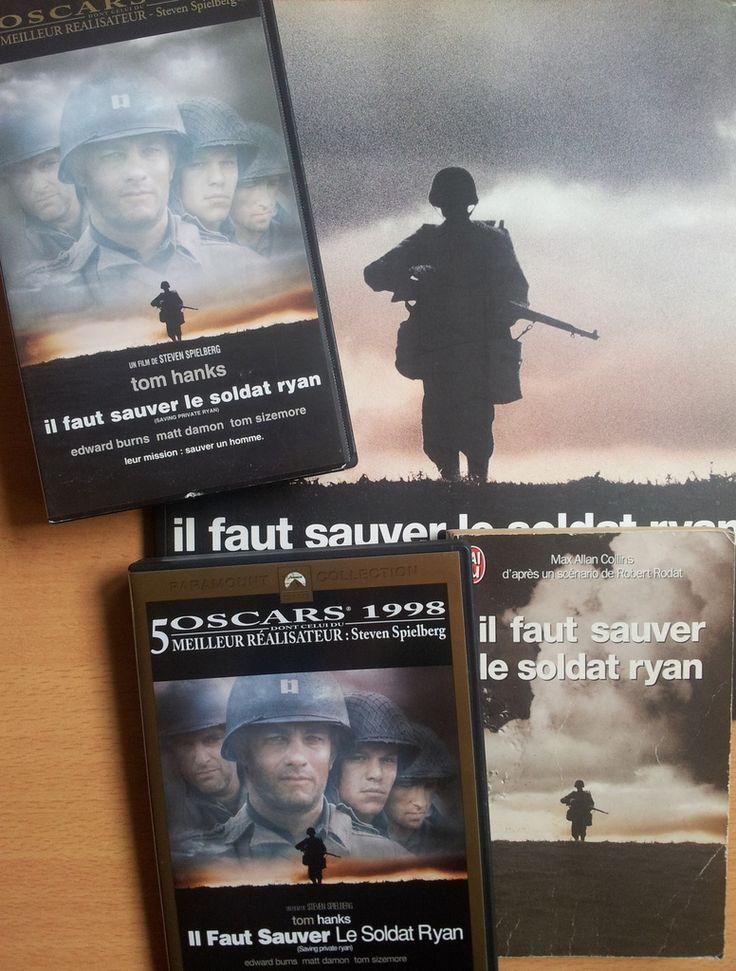 Il faut sauver le soldat Ryan. Un film de Steven SPIELBERG. Photos de David James. Editions 84, 1998.