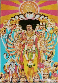 """Jimi Hendrix """"Axis Bold As Love"""" Magnet $7.95"""