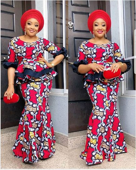 20 Most Beautiful and Stylish Trends of Ankara Styles for Ladies