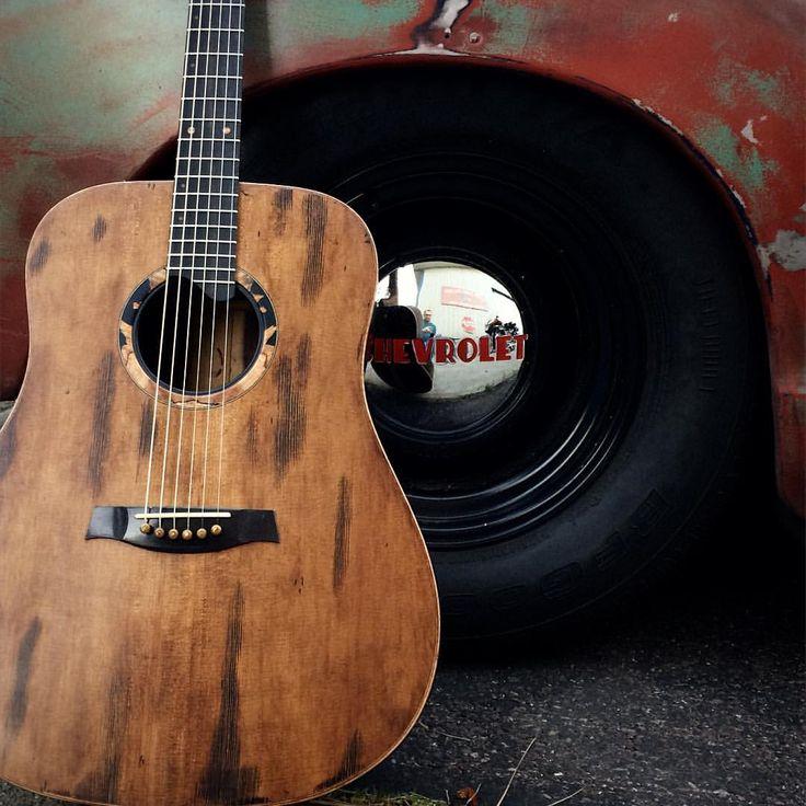 "251 Likes, 3 Comments - Bent Twig Guitars (@benttwigguitars) on Instagram: ""Love the patina!!! #patina #patinatruck #chevytrucks #oldtruck #acousticaguitar #acousticguitar…"""