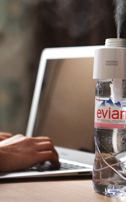 A $34 Cap That Turns Any Water Bottle Into A Humidifier   Co.Design   business + design