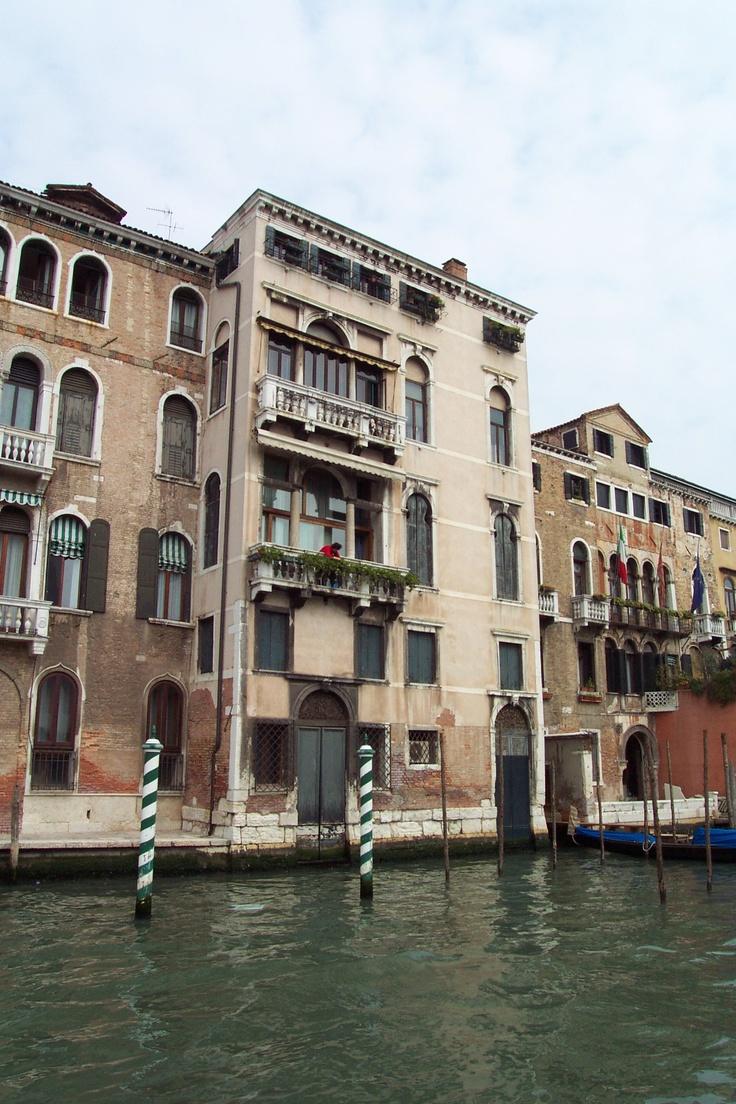 Grand Canal - Venice, Italy Palazzo Lanfranchi ...