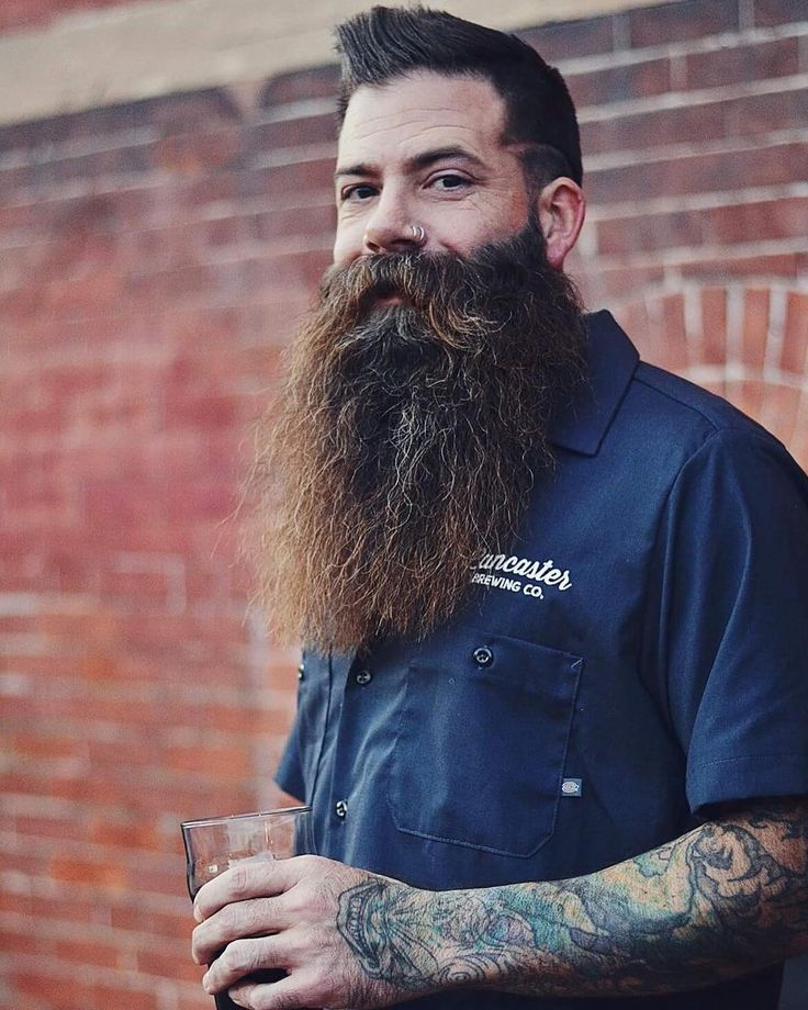 10.9k Followers, 490 Following, 996 Posts - See Instagram photos and videos from ⚔ Brandon Cover ⚔ (@redlionink) -- beautiful full thick bushy fluffy beard mustache long beards bearded man men tattoos tattooed bearding #beardsforever