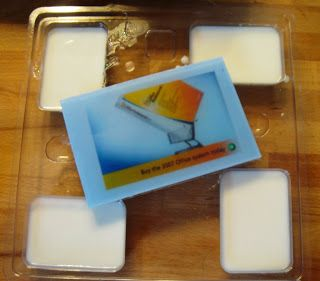 Water Soluble Paper - Using a Silicone Baking Tray - Soap Queen