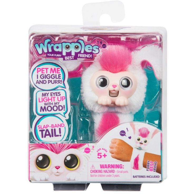 Luna Rainbow Fur Little Live Pets Wrapples Luna Little Live Pets Wrapples Brand New They Love A Pat Interact As You Chat Play An Little Live Pets Pets Big Eyes