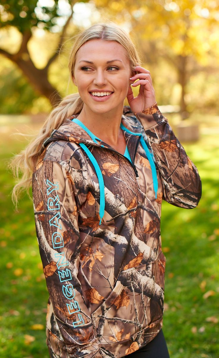 The perfect go-anywhere hoodie in all Camo.  Features a mid-weight smooth finish 100% poly fleece with a silky soft brushed interior for ultimate comfort and a 1/2 zip for easy on-off.  This one will quickly become your go-to hoodie!