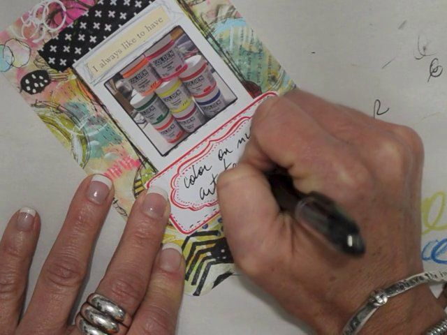 Art Pops™ Project Life Tutorial - Color on My Art Table Card. Art Pops™ meet Project Life.  Video tutorial showing the creation of a Project life card (by Roben-Marie Smith)...