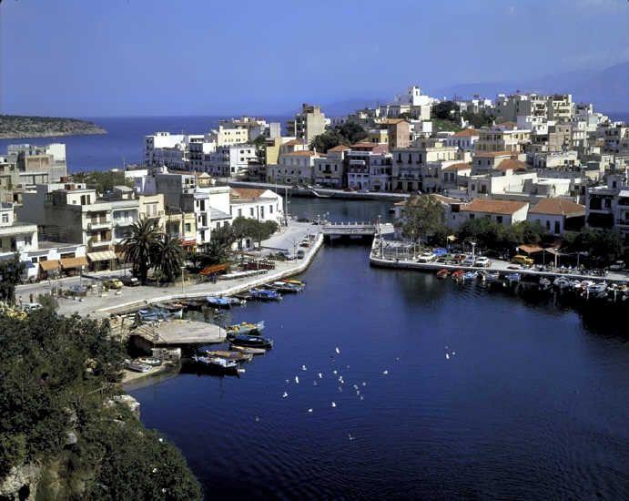 Agios Nicolaos, gotta love Greece