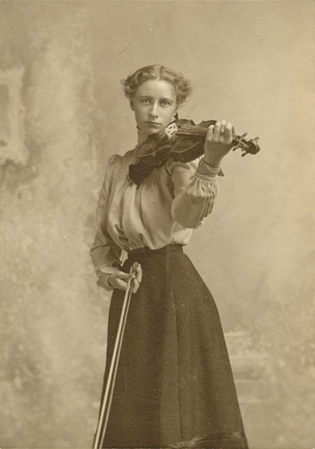Image result for woman playing fiddle in period dress ...
