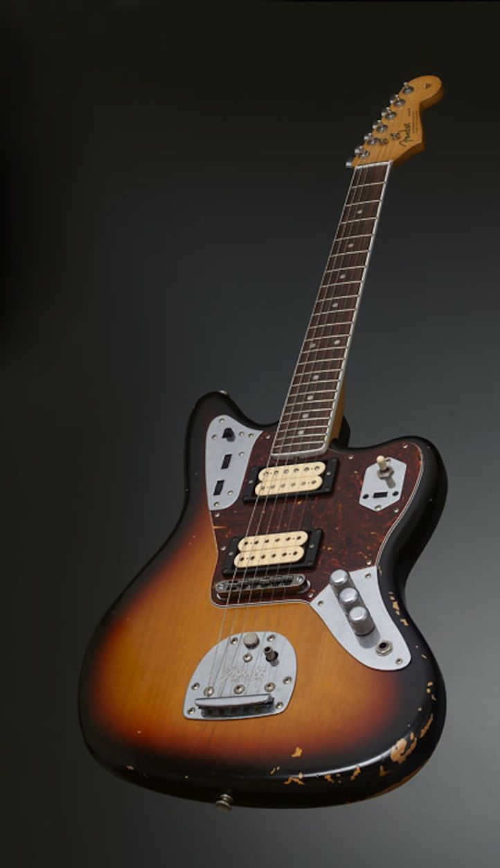 17 best images about guitars collection left handed kurt cobain 1965 fender jaguar