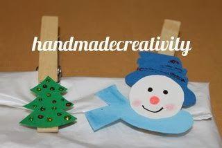 Tutorial: mollette chiudipacco di legno by Handmade Creativity