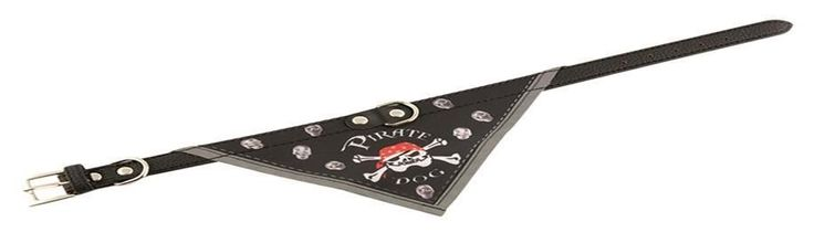 Collier bandana pour chien Pirate Dog. L 41 cm / 15 mm **PA241**   11.5e