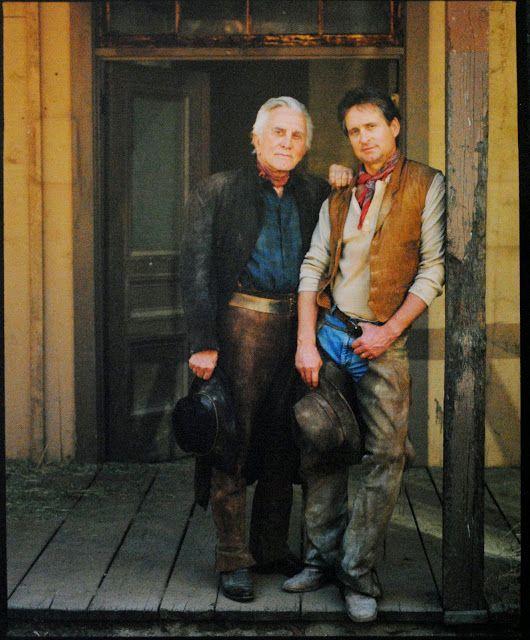 Kirk & Michael Douglas (Annie Leibovitz)
