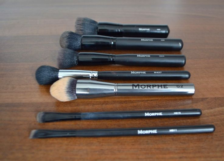 Ordering Morphe Brushes from the UK - review