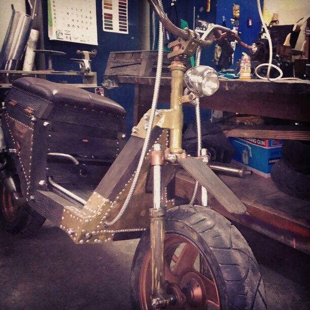 Wood skuter