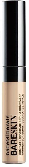 Bareminerals Bareskin Complete Coverage Serum Concealer - Fair  Hydrating humectants help nourish the undereye area, while the silky smooth texture glides effortlessly over fine lines, leaving skin looking fresh and flawless all day.