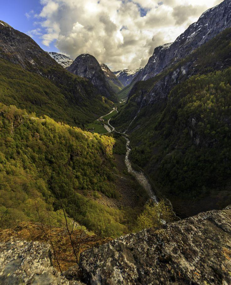 Overblik over dalen.