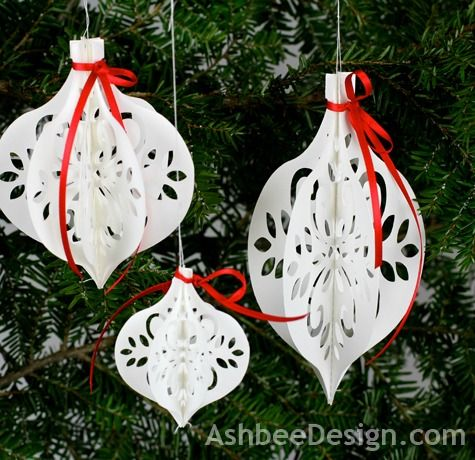 Trim the Tree with these Crafty Paper Christmas Ornaments | Crafts ...